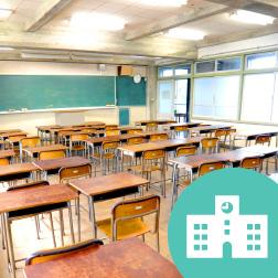 学校用エアコン