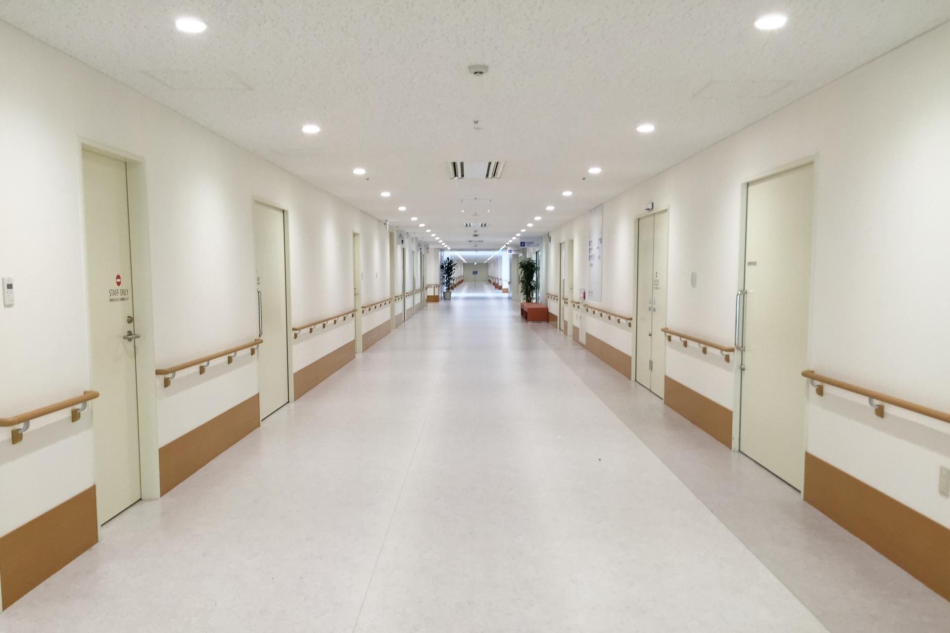 病院施設内