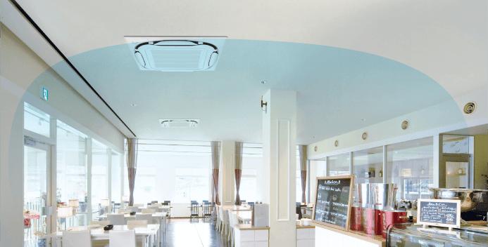 天井埋込形エアコン