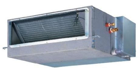 日立 中温用 埋込ダクト形 3馬力 シングル